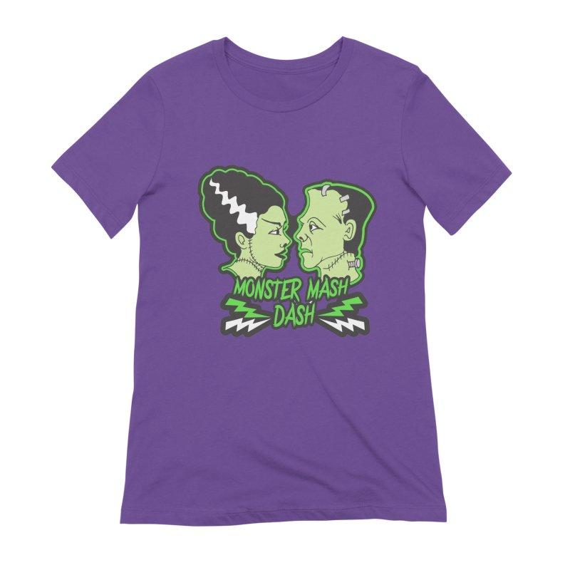 Monster Mash Dash Women's Extra Soft T-Shirt by Moon Joggers's Artist Shop