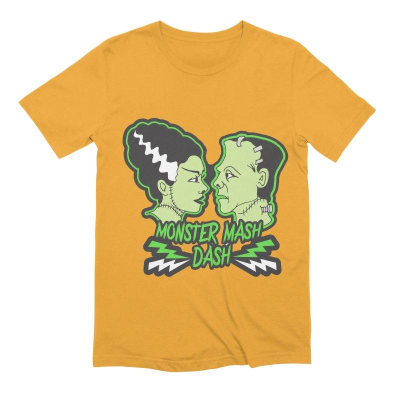 Monster Mash Dash Men's Extra Soft T-Shirt by Moon Joggers's Artist Shop