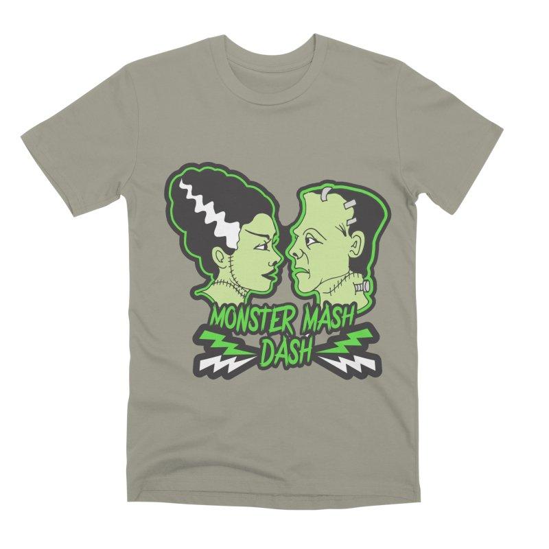 Monster Mash Dash Men's Premium T-Shirt by Moon Joggers's Artist Shop