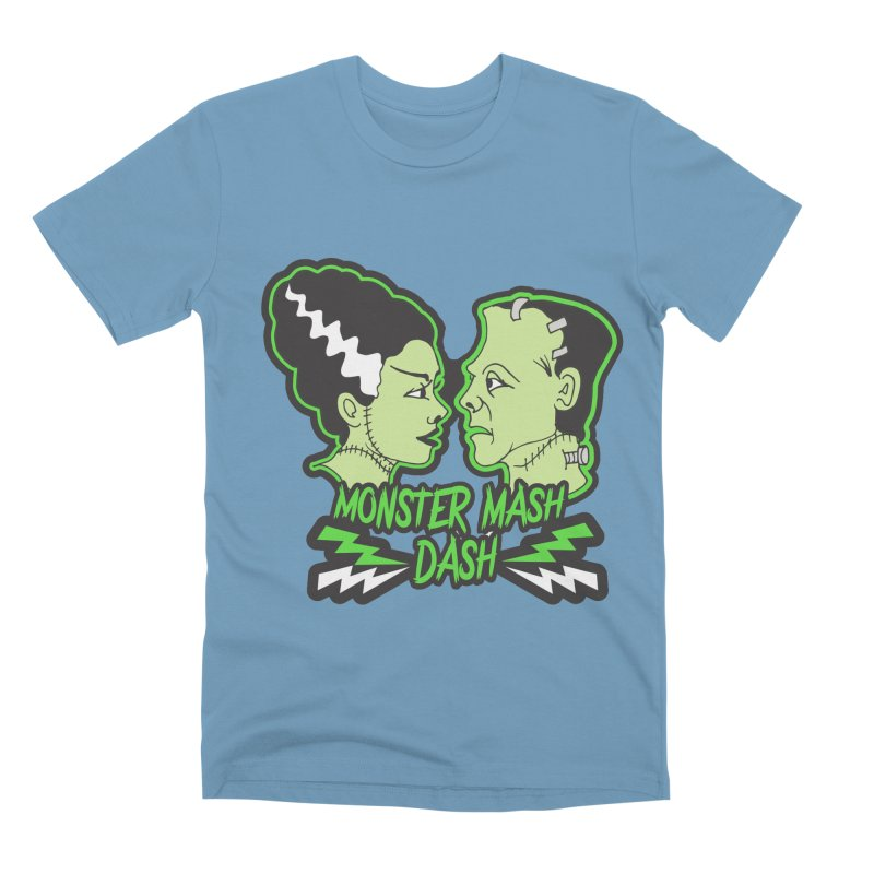 Monster Mash Dash Men's Premium T-Shirt by Moon Joggers's Artist Shop