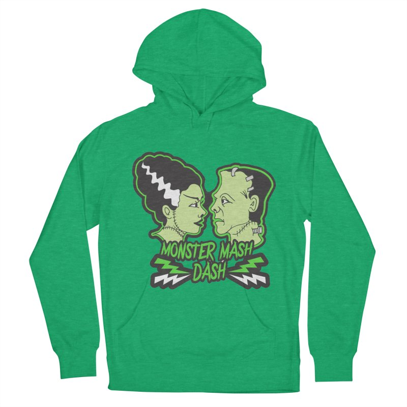Monster Mash Dash Women's French Terry Pullover Hoody by moonjoggers's Artist Shop