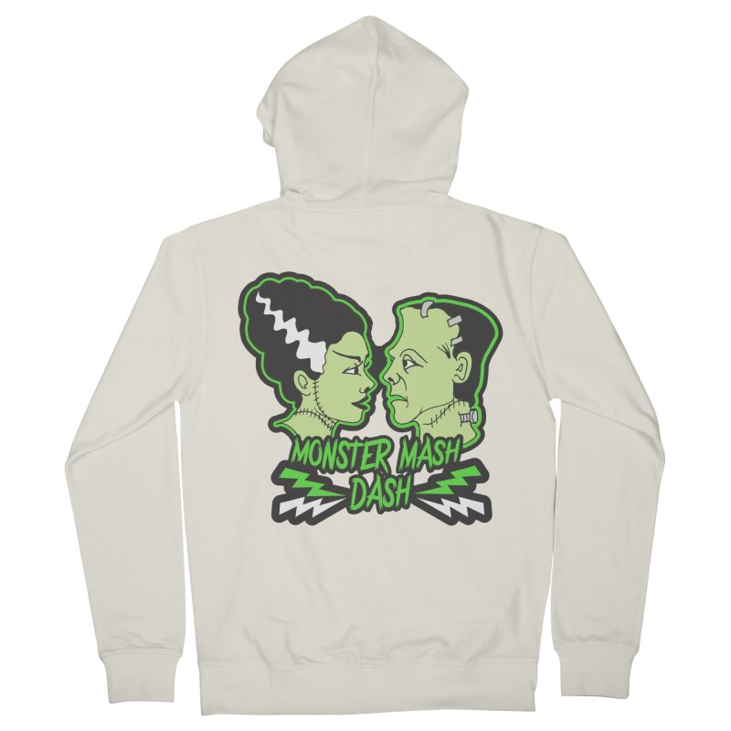 Monster Mash Dash Women's French Terry Zip-Up Hoody by Moon Joggers's Artist Shop
