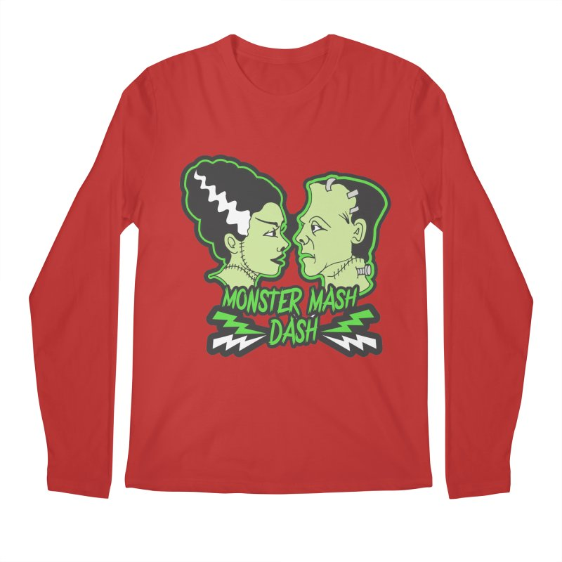 Monster Mash Dash Men's Regular Longsleeve T-Shirt by Moon Joggers's Artist Shop