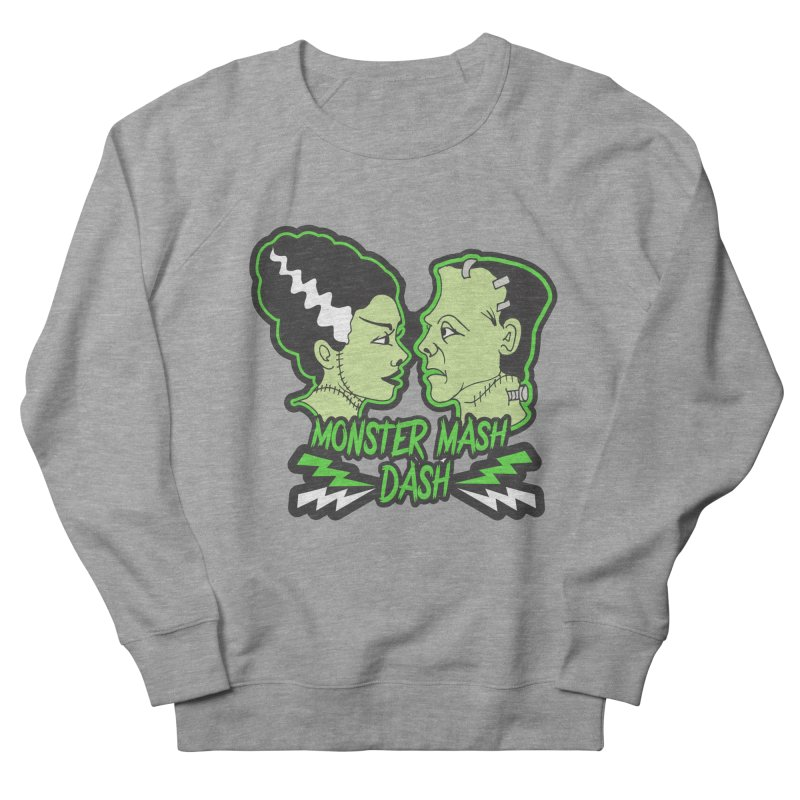 Monster Mash Dash Women's French Terry Sweatshirt by moonjoggers's Artist Shop