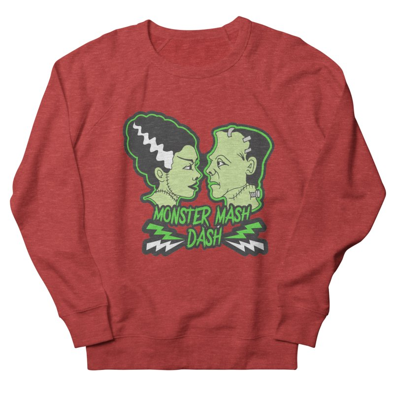 Monster Mash Dash Women's French Terry Sweatshirt by Moon Joggers's Artist Shop