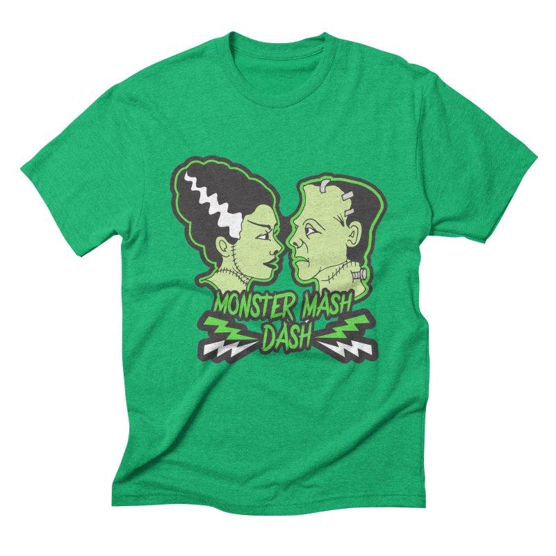 Monster Mash Dash Men's Triblend T-Shirt by Moon Joggers's Artist Shop
