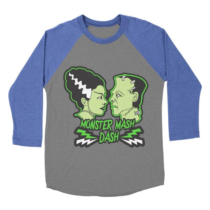 Monster Mash Dash Women's Baseball Triblend Longsleeve T-Shirt by Moon Joggers's Artist Shop