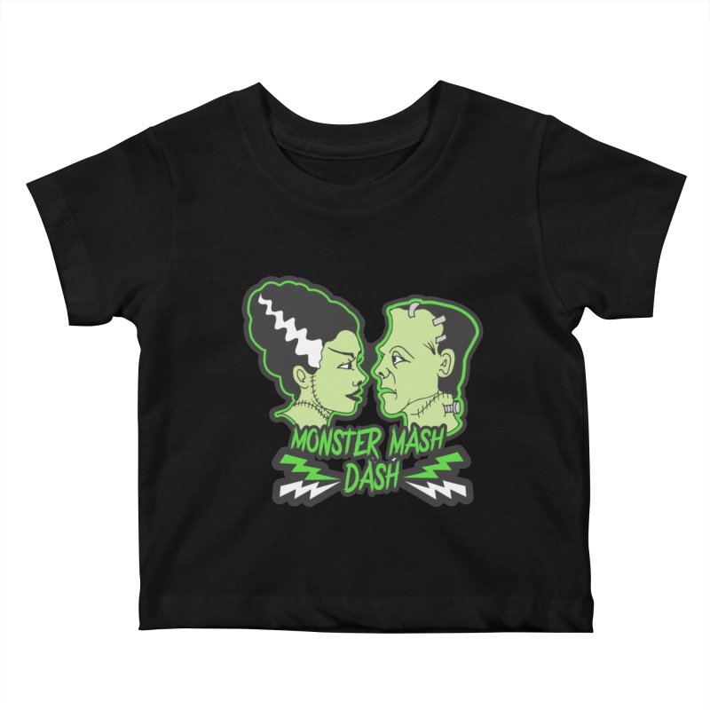 Monster Mash Dash Kids Baby T-Shirt by Moon Joggers's Artist Shop