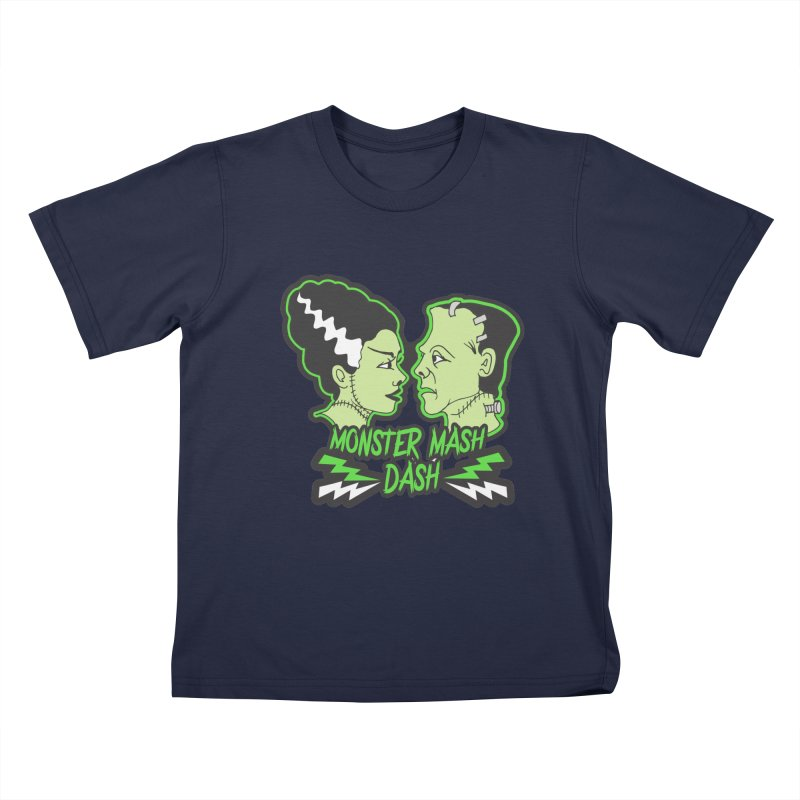 Monster Mash Dash Kids T-Shirt by Moon Joggers's Artist Shop