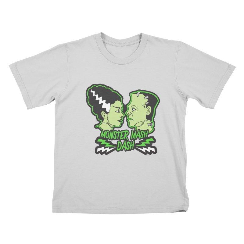 Monster Mash Dash Kids T-Shirt by Moon Joggers's Artist Shop