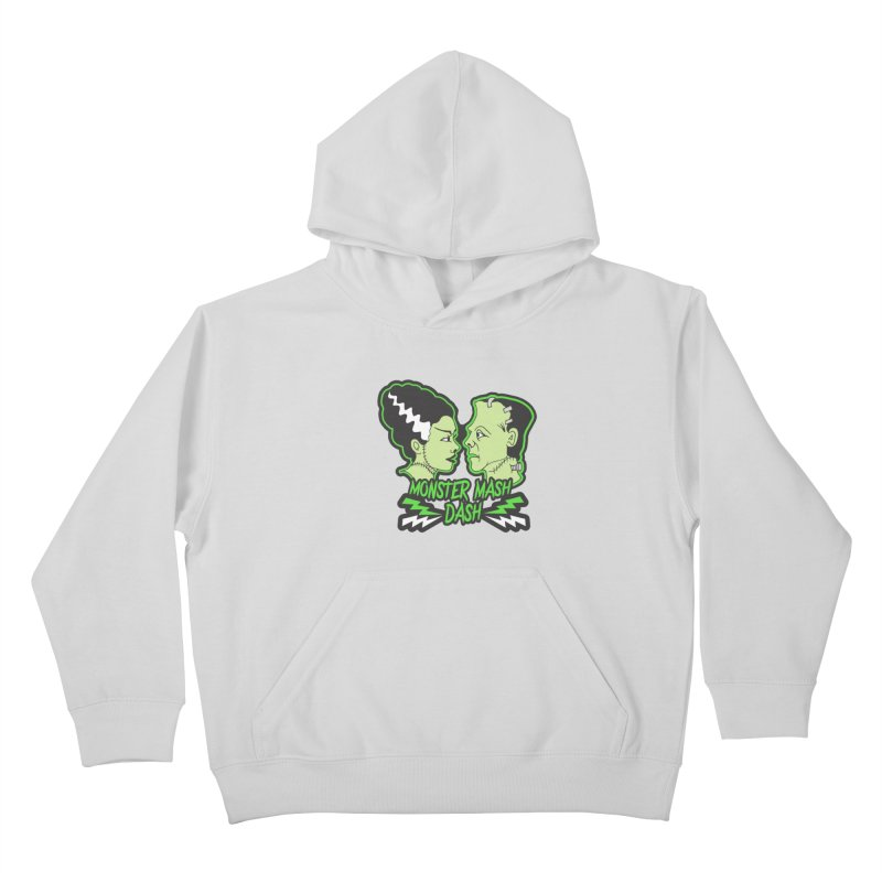 Monster Mash Dash Kids Pullover Hoody by moonjoggers's Artist Shop
