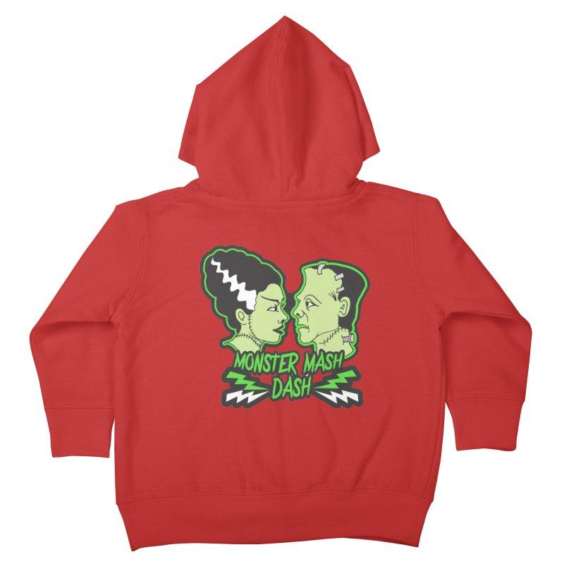 Monster Mash Dash Kids Toddler Zip-Up Hoody by moonjoggers's Artist Shop
