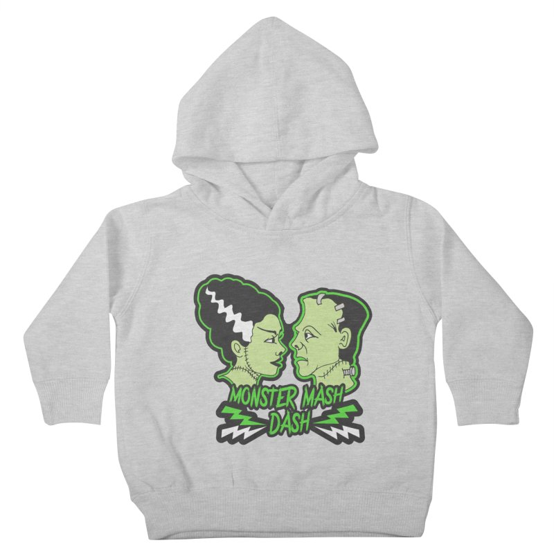 Monster Mash Dash Kids Toddler Pullover Hoody by Moon Joggers's Artist Shop
