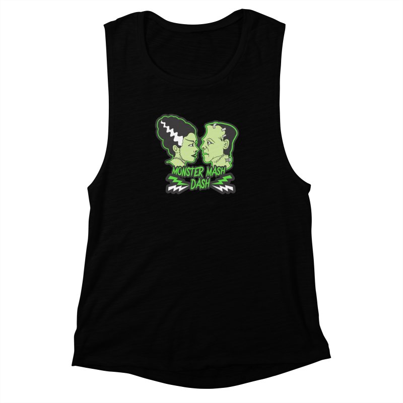 Monster Mash Dash Women's Muscle Tank by Moon Joggers's Artist Shop