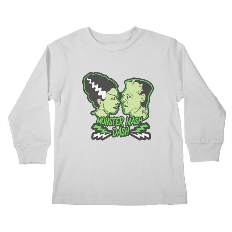 Monster Mash Dash Kids Longsleeve T-Shirt by Moon Joggers's Artist Shop