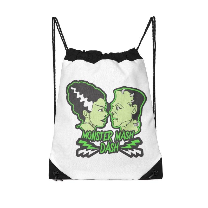 Monster Mash Dash Accessories Drawstring Bag Bag by Moon Joggers's Artist Shop