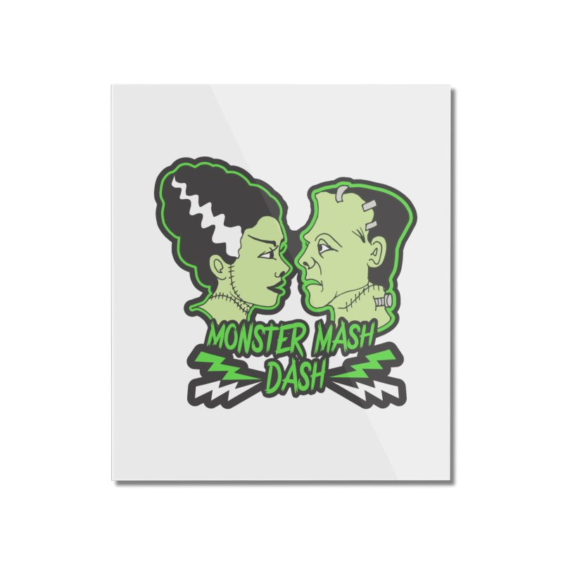 Monster Mash Dash Home Mounted Acrylic Print by moonjoggers's Artist Shop
