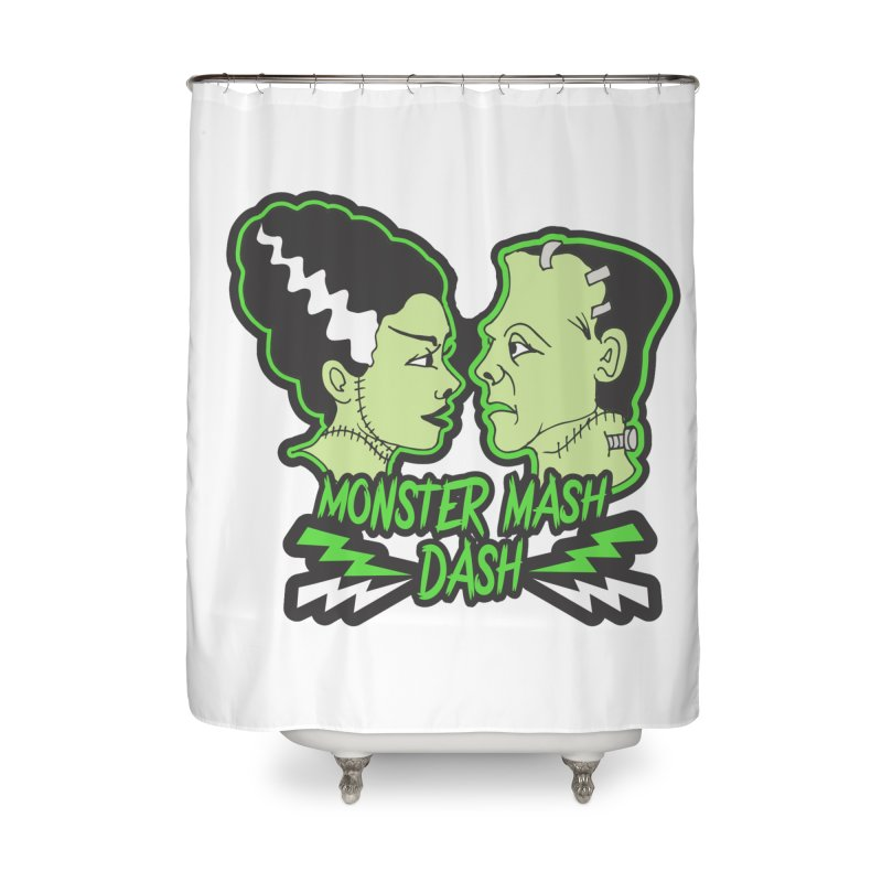 Monster Mash Dash Home Shower Curtain by Moon Joggers's Artist Shop