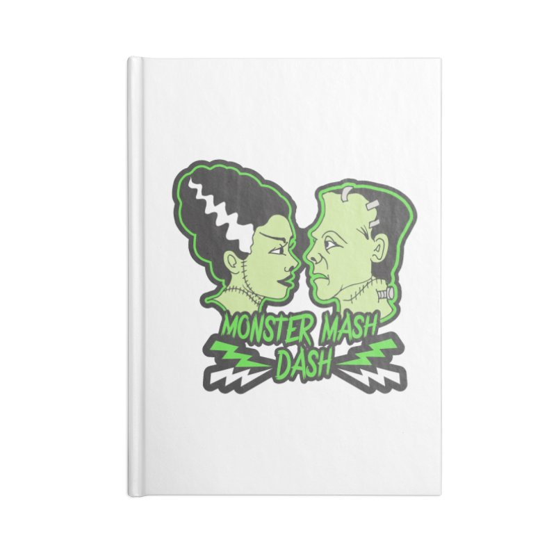 Monster Mash Dash Accessories Lined Journal Notebook by Moon Joggers's Artist Shop