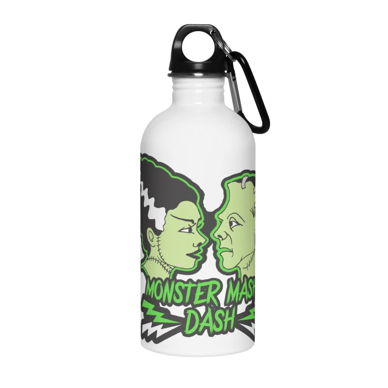 Monster Mash Dash Accessories Water Bottle by Moon Joggers's Artist Shop