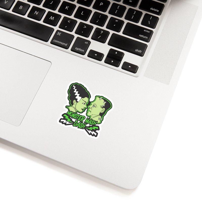 Monster Mash Dash Accessories Sticker by Moon Joggers's Artist Shop