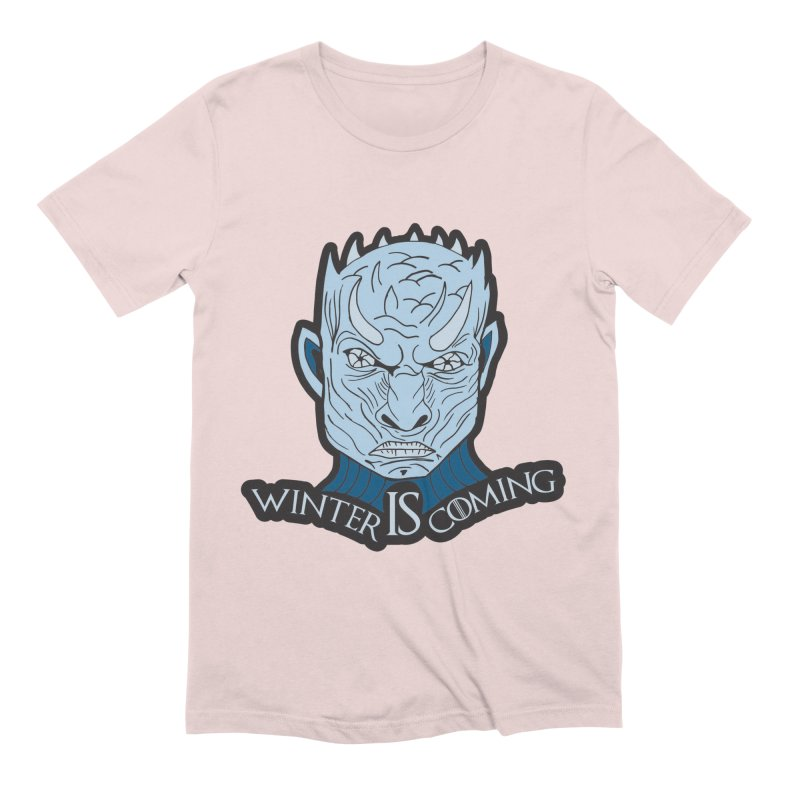 Winter IS Coming Men's Extra Soft T-Shirt by Moon Joggers's Artist Shop