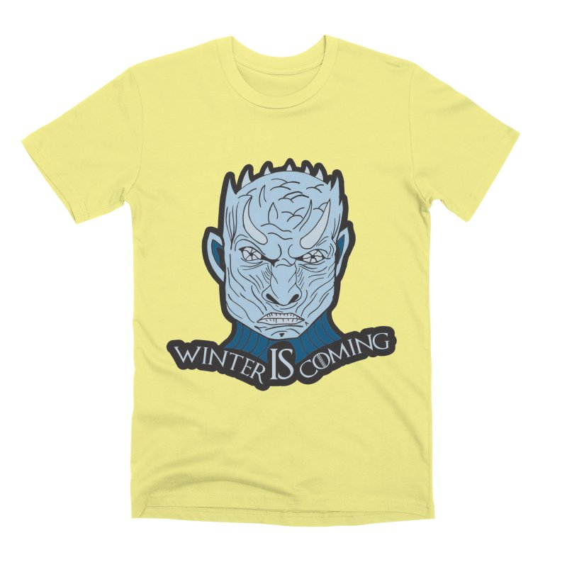 Winter IS Coming Men's Premium T-Shirt by Moon Joggers's Artist Shop