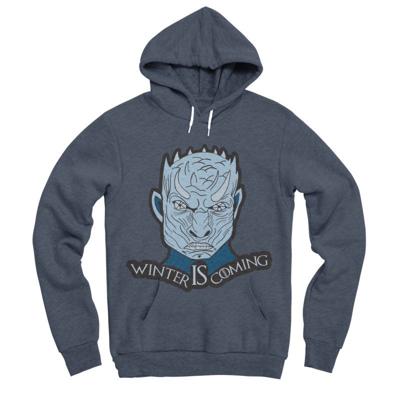 Winter IS Coming Men's Sponge Fleece Pullover Hoody by Moon Joggers's Artist Shop
