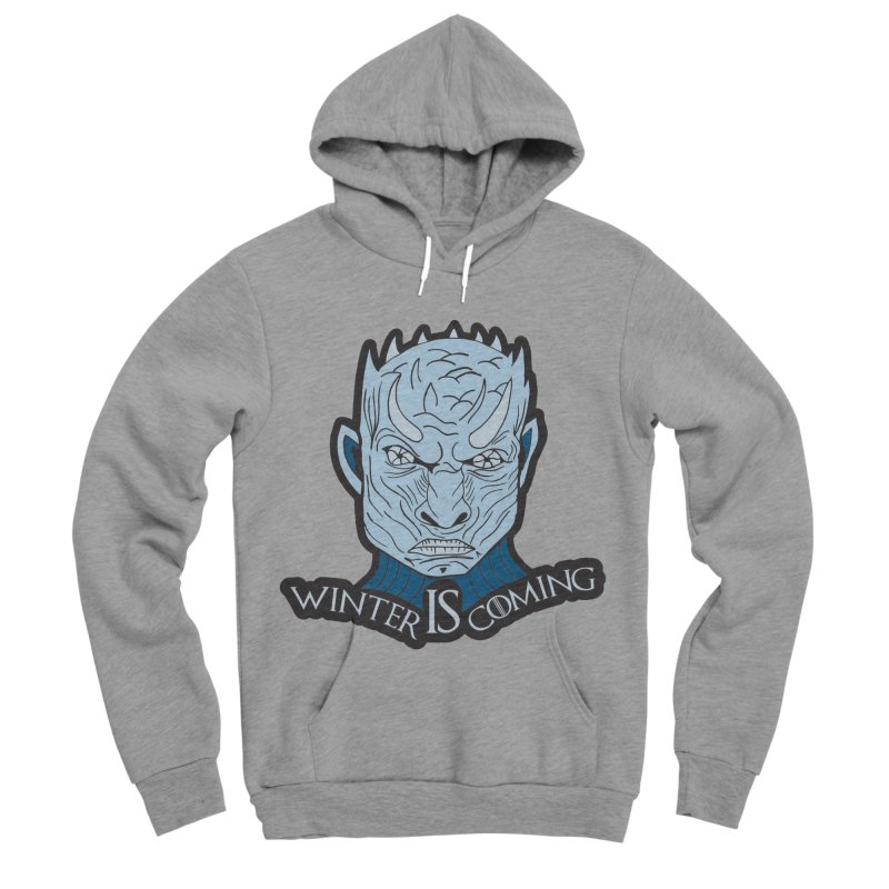 Winter IS Coming Women's Sponge Fleece Pullover Hoody by Moon Joggers's Artist Shop