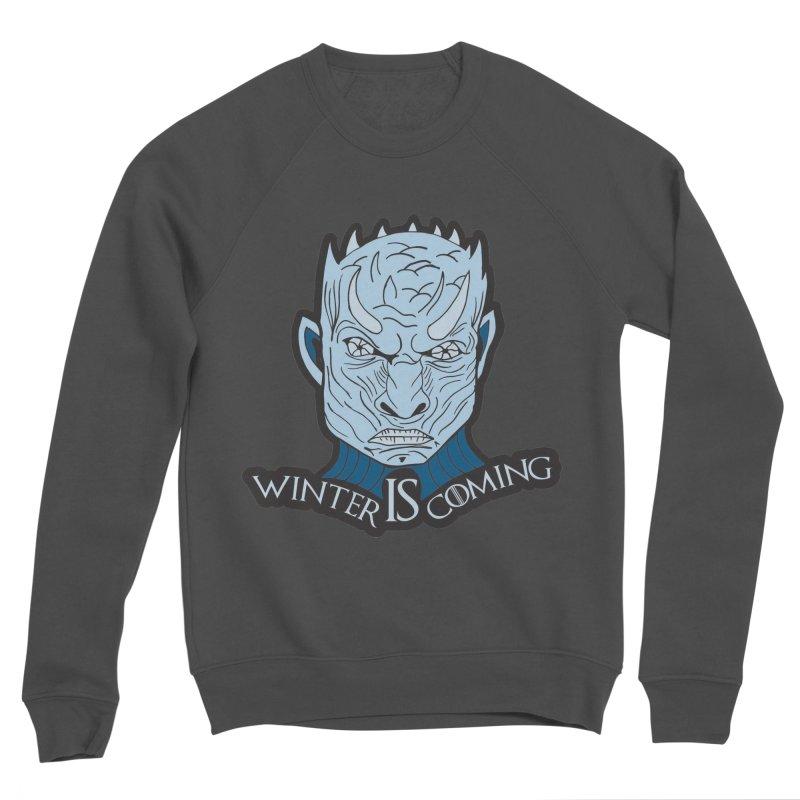 Winter IS Coming Men's Sponge Fleece Sweatshirt by Moon Joggers's Artist Shop