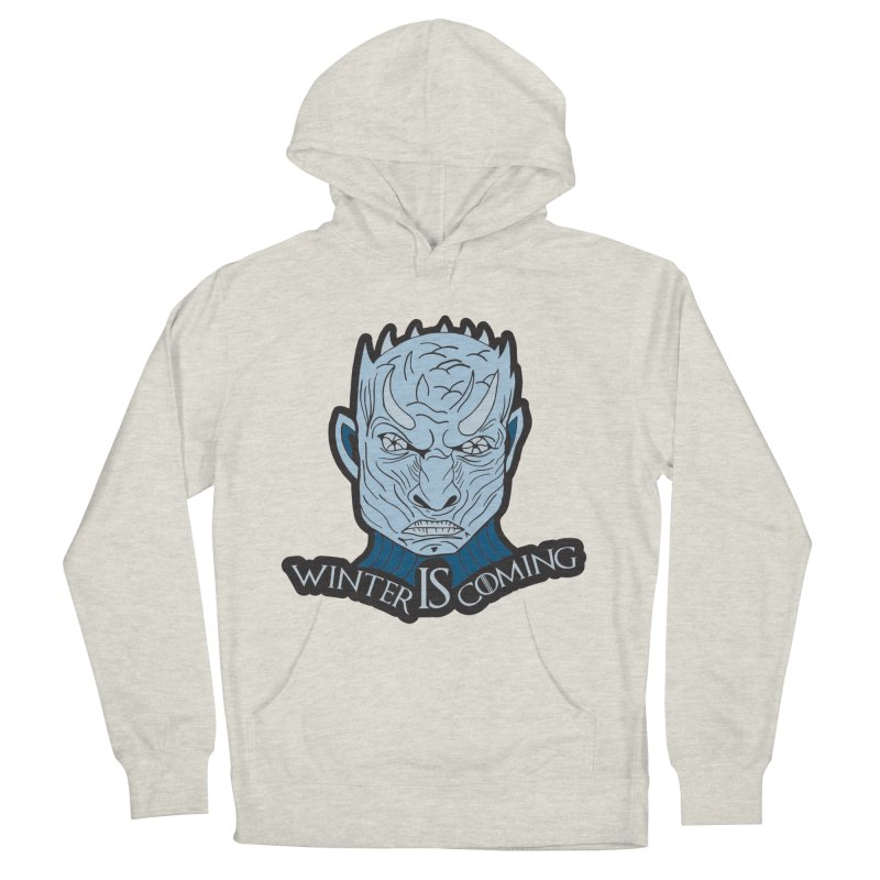 Winter IS Coming Women's French Terry Pullover Hoody by moonjoggers's Artist Shop