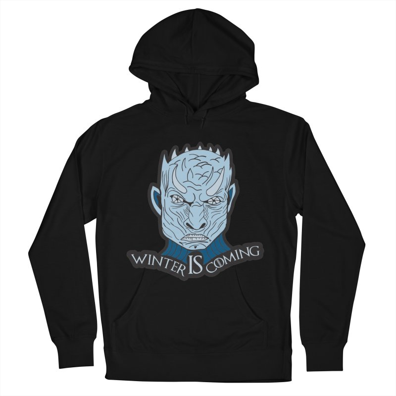 Winter IS Coming Men's French Terry Pullover Hoody by Moon Joggers's Artist Shop