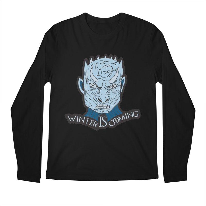 Winter IS Coming Men's Regular Longsleeve T-Shirt by moonjoggers's Artist Shop