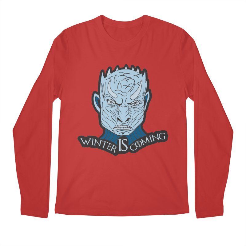 Winter IS Coming Men's Regular Longsleeve T-Shirt by Moon Joggers's Artist Shop