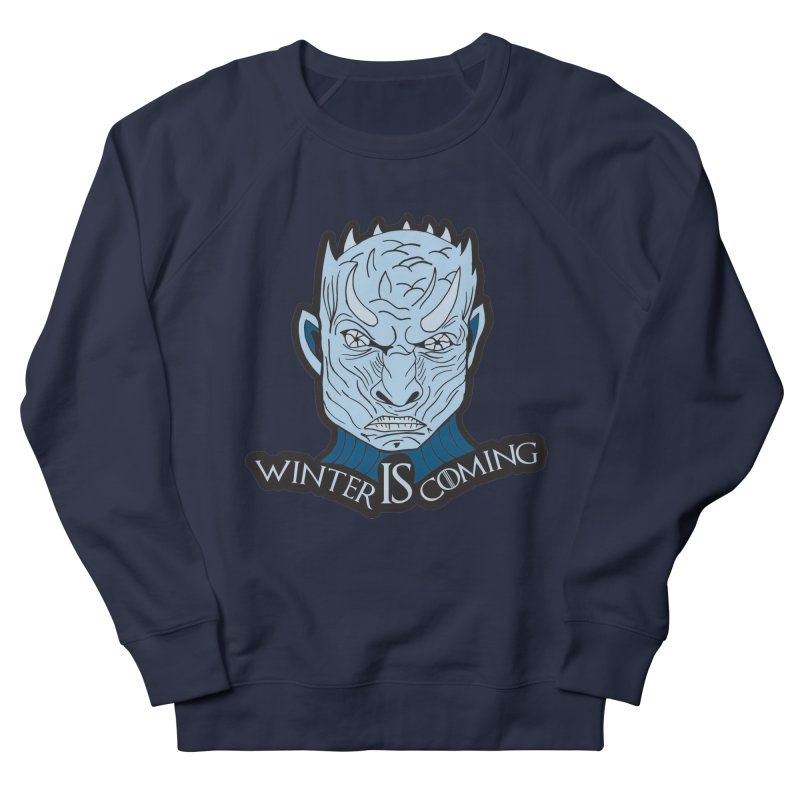 Winter IS Coming Women's French Terry Sweatshirt by Moon Joggers's Artist Shop