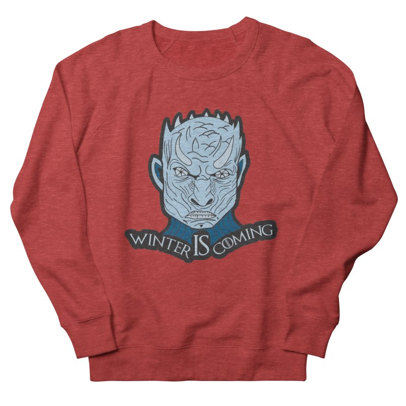 Winter IS Coming Men's French Terry Sweatshirt by Moon Joggers's Artist Shop