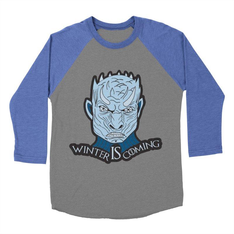 Winter IS Coming Women's Baseball Triblend Longsleeve T-Shirt by Moon Joggers's Artist Shop