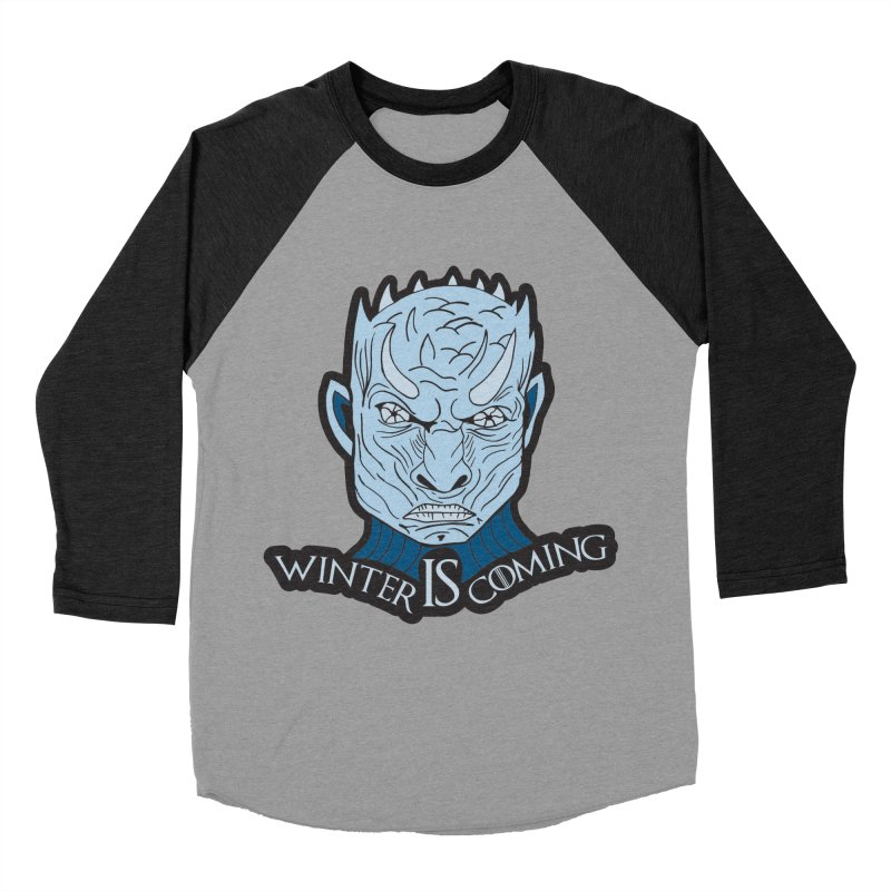 Winter IS Coming Men's Baseball Triblend Longsleeve T-Shirt by Moon Joggers's Artist Shop