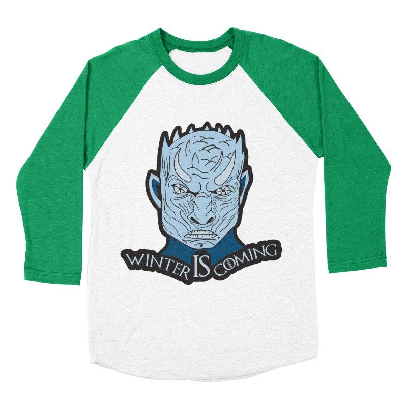Winter IS Coming Men's Baseball Triblend Longsleeve T-Shirt by Moon Joggers's Artist Shop
