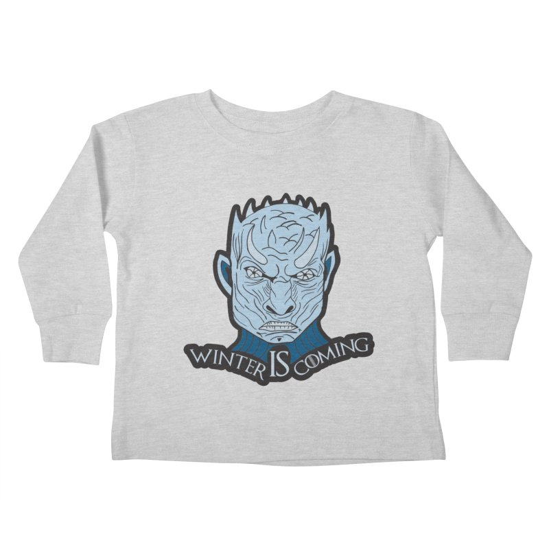 Winter IS Coming Kids Toddler Longsleeve T-Shirt by Moon Joggers's Artist Shop