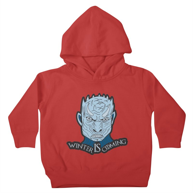 Winter IS Coming Kids Toddler Pullover Hoody by Moon Joggers's Artist Shop