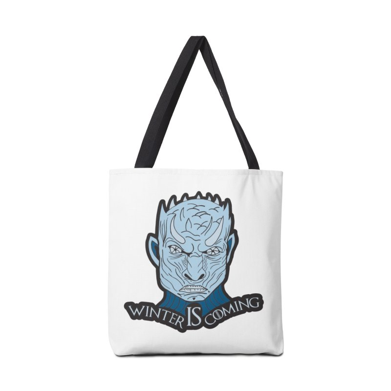 Winter IS Coming Accessories Bag by moonjoggers's Artist Shop