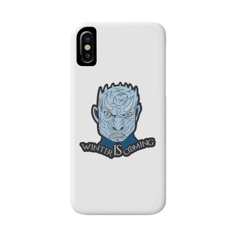 Winter IS Coming Accessories Phone Case by moonjoggers's Artist Shop