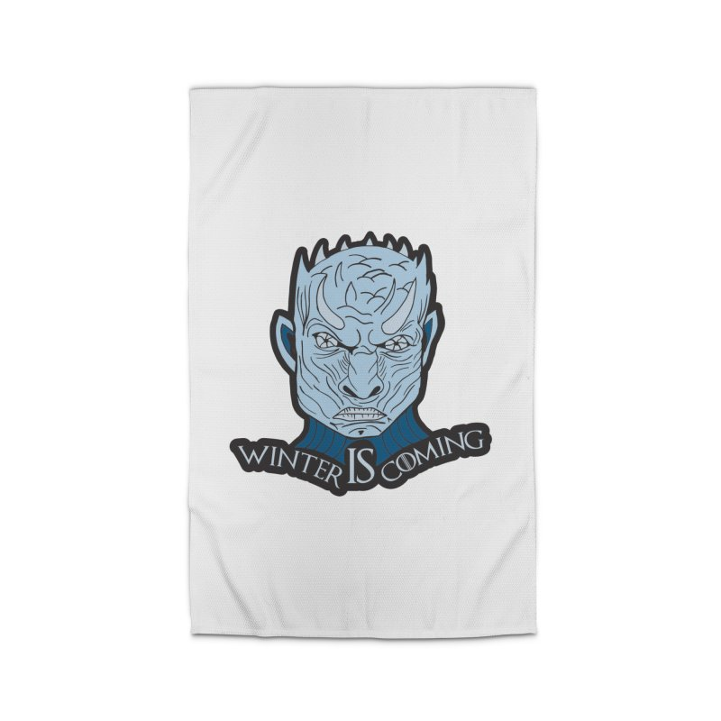 Winter IS Coming Home Rug by Moon Joggers's Artist Shop