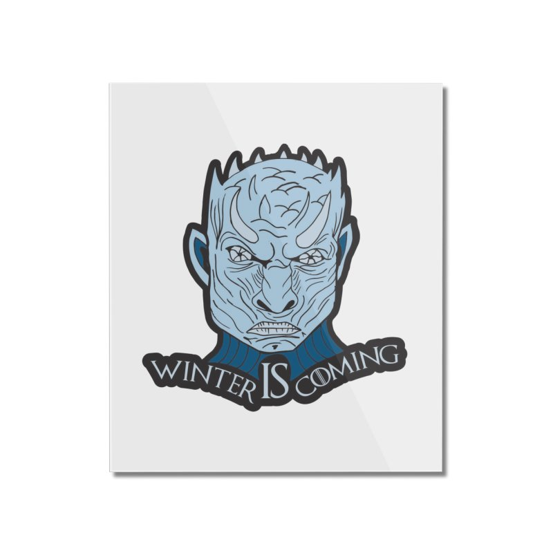 Winter IS Coming Home Mounted Acrylic Print by moonjoggers's Artist Shop
