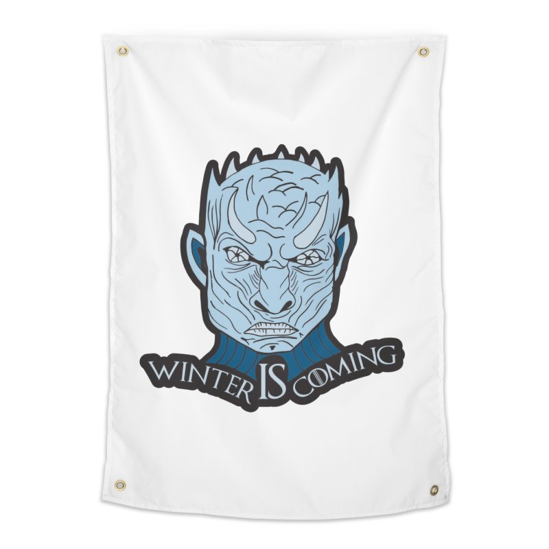 Winter IS Coming Home Tapestry by Moon Joggers's Artist Shop