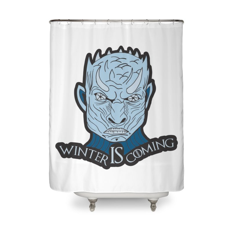Winter IS Coming Home Shower Curtain by Moon Joggers's Artist Shop