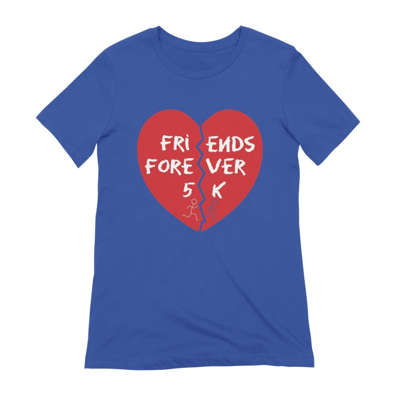 Friends Forever Women's Extra Soft T-Shirt by Moon Joggers's Artist Shop