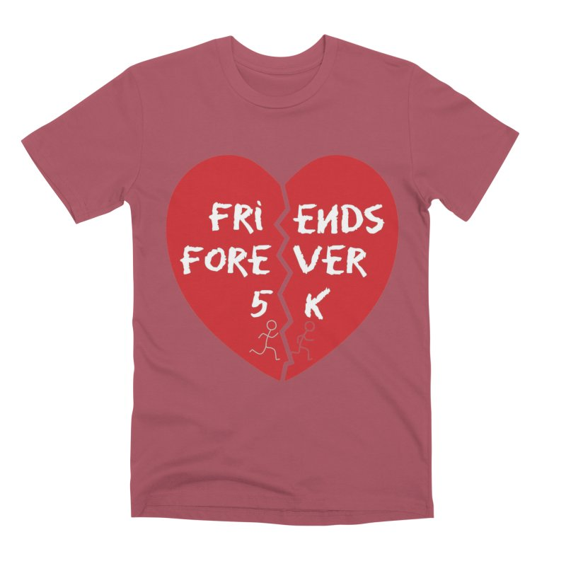 Friends Forever Men's Premium T-Shirt by Moon Joggers's Artist Shop