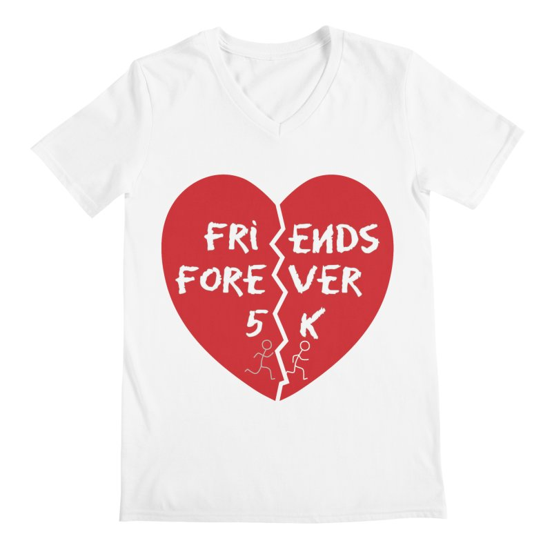 Friends Forever Men's V-Neck by Moon Joggers's Artist Shop